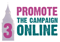 Promote the campaign online