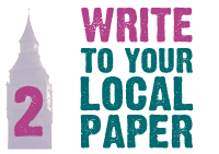 Write to your local paper